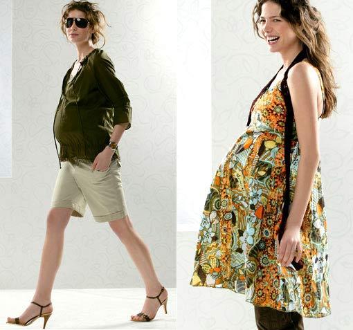 Fragancias ropa premam moda para embarazadas - Ropa de bano premama ...