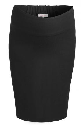 a4ced0673 ... con una camisa similar a la anterior pero en color negro (142.00 euros)  y un abrigo para premamá en un tono claro con lazo en la cintura (219.00  euros)
